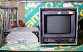 Sony HR Trinitron PVM-9044QM Colour Video Monitor & Case
