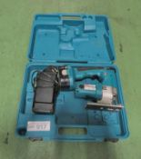 Makita 4334D Electric Jig Saw - 1 Battery, 1 Charger in a case