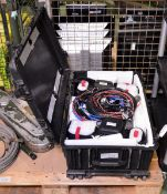 2x Aquila Thermal Surveillance Cameras in Peli 1650 case