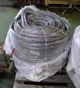 HMPE 22mm Grey 220M C rope - NSN 4020-99-481-9229
