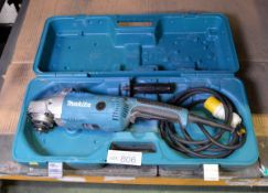 Makita GA7020 180mm Electric Angle Grinder 110V with Case