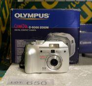 Olympus Camedia C-5000 Digital Camera + Accessories