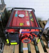 Honda EX3000 X 3KVA generator 110V / 240V