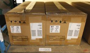 10x Yealink T41-P SIP Desk Phones (BT Badge) - Brand New - power adapter not included