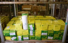 76x Mann Filter W11102/4 Oil Filters