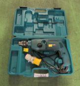 Makita HP2040 Portable Electric Hammer Drill 110v