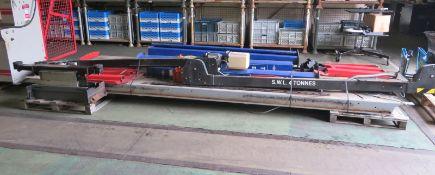 Tecalemit vehicle lift - Type 4949003 - serial 00797 - 1.8kW - 3 phase - 4000kg