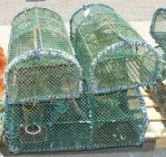 4x Lobster - Parlor Pots W 910mm x D 470mm x H 330mm