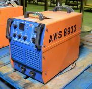 Newarc R5000 CC/CV multi process welder with wire feeder, Newarc welder inverter MF37