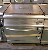 Gas Flat Top Stove And Oven - L930mm x W800mm x H900mm