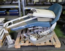 Dental Operating Chair - AS SPARES OR REPAIRS