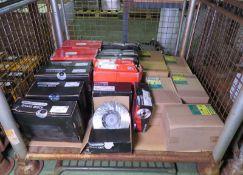 Vehicle parts - Drivemaster brake discs, Mintex brake discs, wheel bearing kits, Mann filt