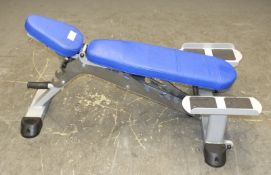 Leisurelines U099-R Incline/Decline Weight Bench with dumbbell stands