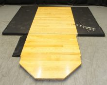 Wooden Gym Flooring with metal frame - L2350 x D3115mm
