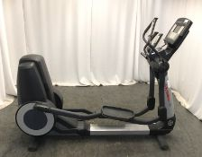 Life Fitness 95x Elliptical Cross Trainer - Badly damaged to right arm section as seen in