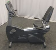 Life Fitness 95Ri Recumbent Exercise Bike - badly damaged display unit - Please check pictures