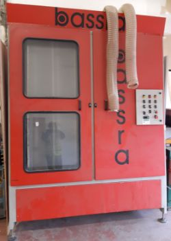BASSRA BMT 1.7m 4 Brush Glasswasher & Advance Systems HM2000 Hot Melt Machine from SOUTH TYNESIDE HOMES, SOUTH SHIELDS - COLLECTION ONLY