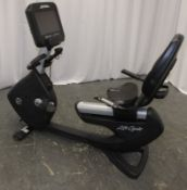Life Fitness Life Cycle 95RS Recumbent Exercise Bike - Missing Power Lead