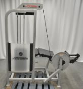 Life Fitness SL30 Leg Curl Machine S/N 108404 - See pictures for condition