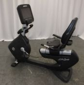 Life Fitness Life Cycle 95RS Recumbent Exercise Bike