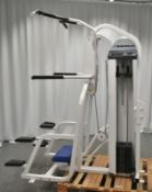 Nautilus Gravitron Plus Weight Assisted Chin Dip Machine - See pictures for condition