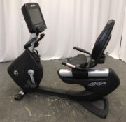 Life Fitness Life Cycle 95RS Recumbent Exercise Bike - Missing Power Pack