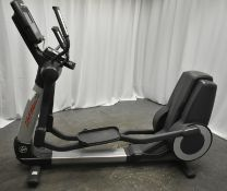 Life Fitness 95X Cross Trainer -Powers Up Functions Not Tested