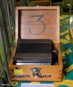 Eclipse Single Magnetic V-Block in Case