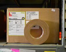 Scapa Pro 3302 Beige Cloth Adhesive Tape - 50mm x 50m - 1 Box - 16 rolls per box