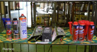 Liqui Moly motor oil saver, Liqui moly motor protect, Liqui Moly Speed tec diesel