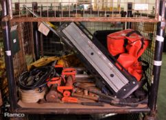 Various Fire Fighting Equipment - Entry Bar, Stand Pipe