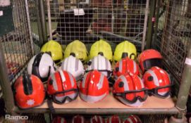 14x Fire Safety Helmets