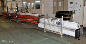 Tecalimit C4100 12000kg capacity Car Lift assembly