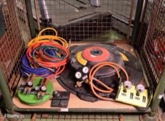 Zumro NT Resq Air Bag System 23/58T - control panel, hoses, bags