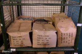 144x Metal Food Baskets