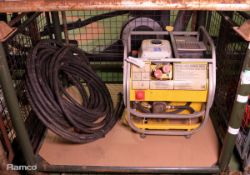 Terex HP90E Hydraulic Power Pack W 550mm x D 730mm x H 620mm with hose