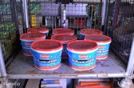 Carplan All seasons Screen wash - 70ml sachets - 70 per tub - 8 tubs