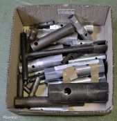 Various Sized Box Wrenches