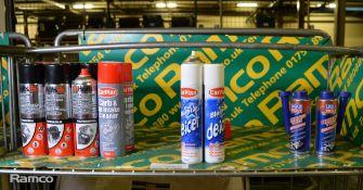 Holts EGR & Carb Cleaner, Engine & Parts Degreaser, Carplan Carb & Air Intake Cleaner, De-