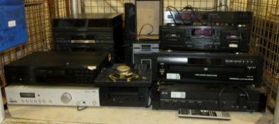 Various Hi-Fi Systems & Speakers - Toshiba, Aiwa & Denon
