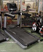 Life Fitness Flex Deck treadmill (damaged perspex on display)