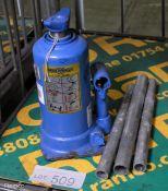 Weber Hydraulik Type ATD5-220M Bottle Jack S.W.L 5000kg