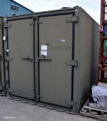 Delfasco Storage Container - Green - L2130 x D2650 x H2300mm
