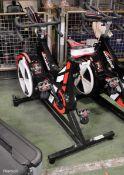Watt Bike Trainer with Model B Display - damaged display bracket