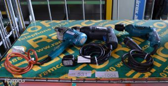 Black & Decker D420 Portable Electric Drill 240v, ELU BM11E Portable Electric Drill 240v,