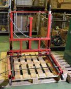 Sealey Wheel Removal Trolley Max 500kg