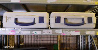 2x Hofbauer Megabag Double Wall Cases - W480 x D480 x H170mm