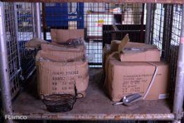 180x Transworld Aluminium Scoops, 40x Wire Baskets