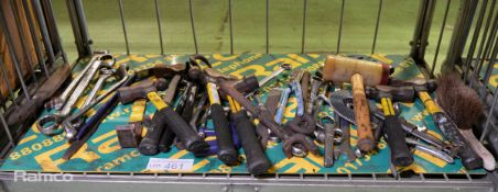 Hand Tools - Wire Cutters, Hammer, Hacksaw, Spanner, Tinsnips