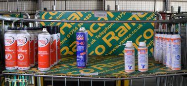Andrew Page Oil treatment, Liqui Moly LM-40, Liqui Moly Air flow sensor cleaner, Liqui Mol
